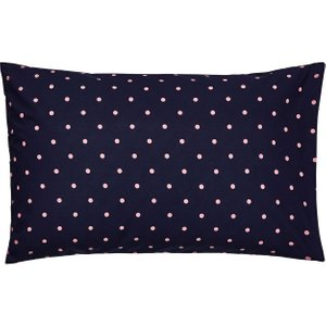 Joules Beau Floral Housewife Pillowcase, French Navy Furniture Accessories, French Navy