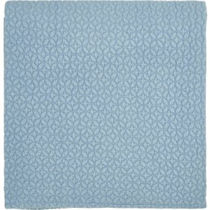 Joules Bedding Hollyhock Meadow Knitted Throw, Hydra Blue , Hydra Blue