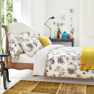 Joules Bedding, Imogen Double Duvet Cover, Cream Ducimoc2crm