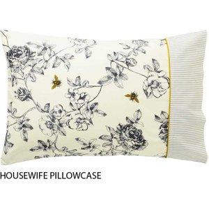 Joules Bedding, Imogen Housewife Pillowcase, Cream Ducimochcrm, Cream