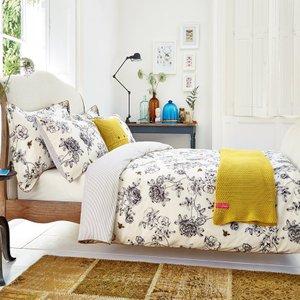 Joules Bedding, Imogen Kingsize Duvet Cover, Cream Ducimoc3crm