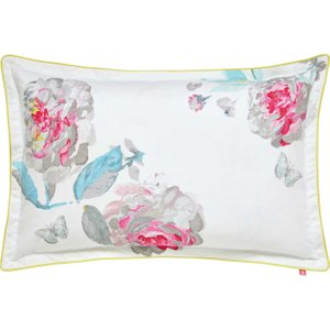 Joules Bright White Beau Bloom Oxford Pillowcase Furniture Accessories, White