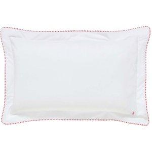 Joules Brightside Stripe Oxford Pillowcase, Chalk Ducbtscocha, Chalk