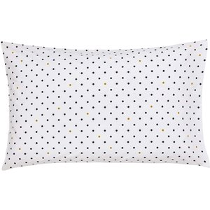 Joules Galley Grade Floral Housewife Pillowcase, Chalk Ducggfchchk, Chalk