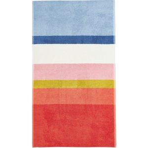 Joules Halcyon Stripe Bath Towel, Multi Furniture Accessories, Multi