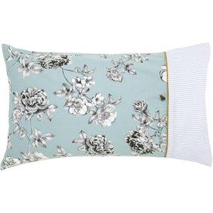 Joules Imogen Pair Of Housewife Pillowcases, Blue Ducimobhblu, Blue