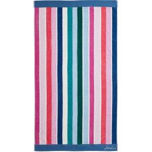 Joules Lost Garden Stripe Bath Towel, Multi Twllgsm3mul , Multi
