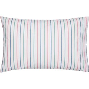 Joules Lost Garden Stripe Pair Of Housewife Pillowcases, Multi Duclgsmhmulp , Multi