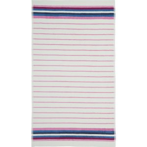 Joules Potting Shed Stripe Bath Towel, Creme Furniture Accessories, Creme