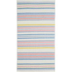 Joules Summer Fruit Stripe Bath Towel, Multi Furniture Accessories, Multi