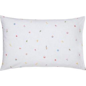 Joules Summer Fruit Stripe Housewife Pillowcase, Multi Furniture Accessories, Multi