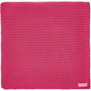 Joules Winter Bloom Knitted Throw, Pink Home Textiles, Pink