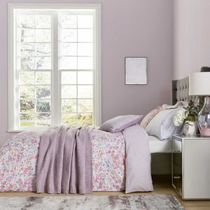 Katie Piper Calm Daisy Bedding, Pink/lilac Desktpcmdsypnk, Pink/Lilac