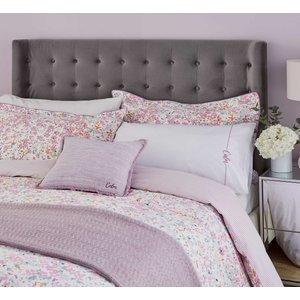 Katie Piper Calm Daisy Kingsize Duvet Cover Set, Pink/lilac Qcscdpp3pnk, Pink/Lilac