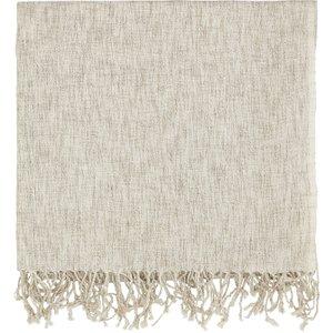 Murmur Grain Woven Throw, Linen Home Textiles, Linen