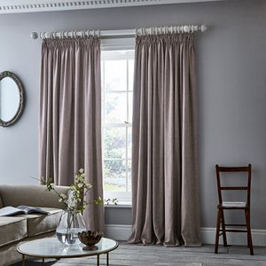 Murmur Niki Pair Of Lined Curtains 66 X 90, Blush Lcrnkib9blu , Blush