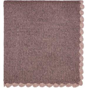 Murmur Scala Knitted Throw, Heather Qtoscahzhea, Heather