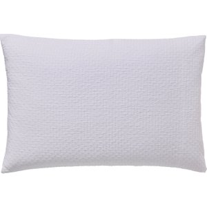 Peacock Blue Hotel Bedding Maya Housewife Pillowcase, White Furniture Accessories, White