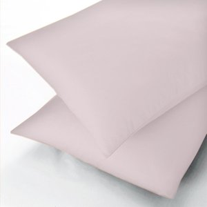 Sanderson 600 Thread Count Single Flat Sheet, Pink Furniture Accessories, Pink