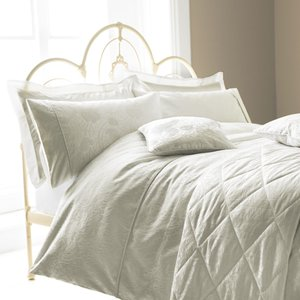 Sanderson Ashbee Housewife Pillowcase, Silver Ducahhshsil, Silver