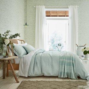 Sanderson Bedding Manderley Double Duvet Cover, Mint Furniture Accessories, Mint