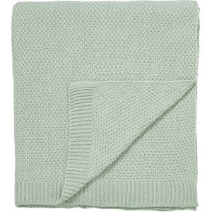 Sanderson Bedding Protea Flower Knitted Throw, Sea Pink , Sea Pink
