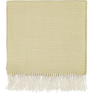 Sanderson Coraline Woven Throw, Chartreuse Home Textiles, Chartreuse