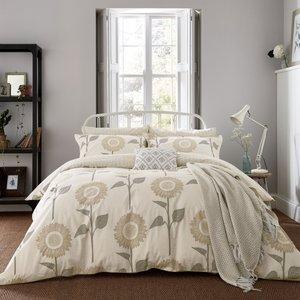 Sanderson Home, Sundial Kingsize Duvet Cover, Linen Furniture Accessories