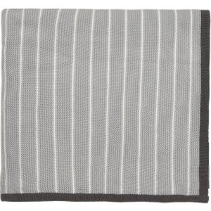 Sanderson Home Willow Tree Knitted Throw, Grey , Grey