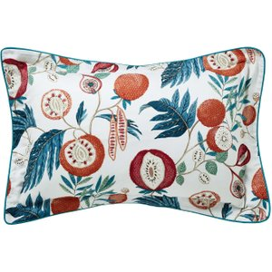 Sanderson Jackfruit Oxford Pillowcase, Indigo Ducjacioind, Indigo