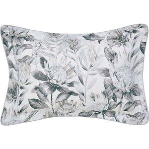 Sanderson King Protea Oxford Pillowcase, Grey & Linen Duckgplolin, Grey & Linen