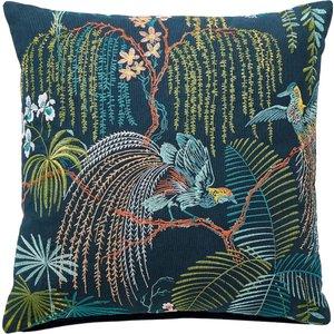 Sanderson Palm House Cushion 45cm X 45cm, Eucalyptus Cshpmhecind, Eucalyptus