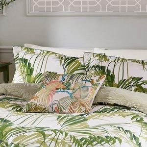 Sanderson Palm House Super Kingsize Duvet Cover, Botanical Green Ducpmhg8gre