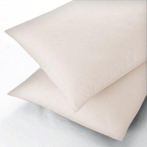Sanderson Plain Dye, 600 Thread Count Oxford Pillowcase, Ivory Ducenioivo, Ivory