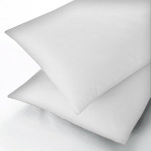 Sanderson Plain Dye, 600 Thread Count Oxford Pillowcase, White Ducenwowhi , White