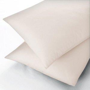 Sanderson Plain Dye, 600 Thread Count Super Kingsize Flat Sheet, Ivory Furniture Accessories, Ivory
