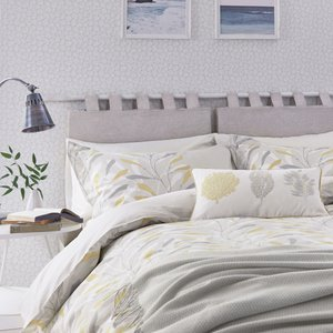 Sanderson Sea Kelp Kingsize Duvet Cover, Ochre Furniture Accessories