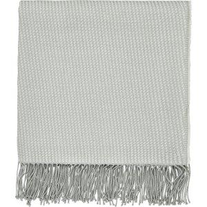 Sanderson Sea Kelp Woven Throw, Grey Home Textiles, Grey