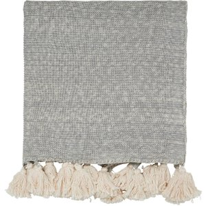 Scion Composition & Padua Knitted Throw, Putty Qtocoopzput , Putty