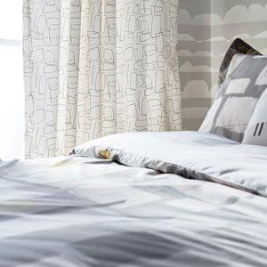 Scion Composition Kingsize Duvet Cover, Putty Furniture Accessories