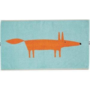 Scion Mr Fox Bath Mat, Aqua Twlmrfq5aqu , Aqua