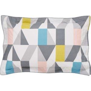 Scion Nuevo Oxford Pillowcase, Blush Grey Ducnueboblu , Grey
