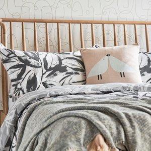 Scion Padua Super Kingsize Duvet Cover, Charcoal Furniture Accessories