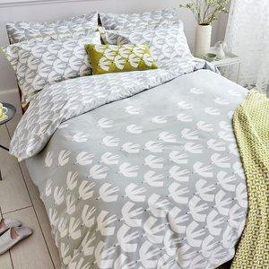 Scion Pajaro Kingsize Duvet Cover, Steel Grey Furniture Accessories