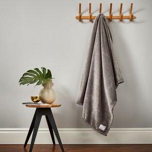 Scion Soft Fleece Throw, Slate Home Textiles