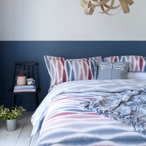 Scion Usuko Super Kingsize Duvet Cover, Rose Furniture Accessories