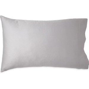 Wellbe Vitamin Sea Plain Dye Housewife Pillowcase, Grey Ducwpdghgre, Grey