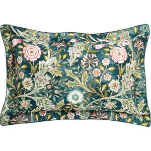 William Morris Wilhelmina Oxford Pillowcase, Teal Ducwlhtotea, Teal