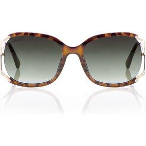 Boux Avenue Cut Out Tortoise Shell Sunglasses - Multicoloured - Os, Multicoloured