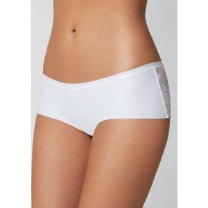 Boux Avenue Lace Back Shorts - White - 06, White